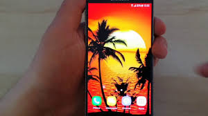tropical live wallpaper free animated screensaver for android
