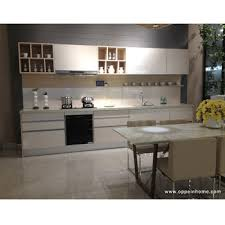 Wholesale Custom Kitchen Cabinets Particle Board Melamine Quartzstone Modern Guangzhou Wholesale