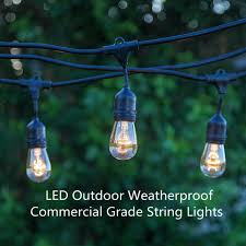 commercial grade christmas lights led outdoor string light weatherproof commercial grade christmas
