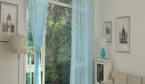 Sheer Blue Curtains Praiseworthy White Curtains With Grey Border Tags White With