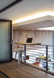 Home Loft Office How To Decorate Loft Space Home Office Contemporary With Open Loft