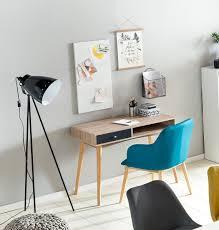 Kleiner Schreibtisch Mit Viel Stauraum Finebuy Schreibtisch 90 X 78 X 45 Cm Mit Schublade In Sonoma Eiche