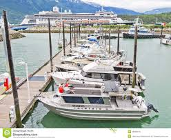 Skagway Alaska Map by Alaska Skagway Small Boat Harbor Map Editorial Stock Image Image