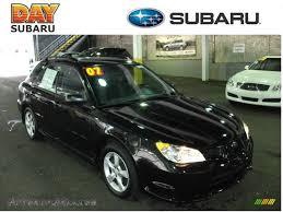 black subaru hatchback 2007 subaru impreza 2 5i wagon in obsidian black pearl 814008