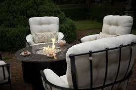 Costco Propane Fire Pit Furniture Great Summer Winds Patio Furniture For Patio Furniture