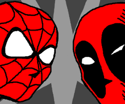 spiderman deadpool epic battle