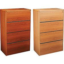 Lateral Wood Filing Cabinets Bristol Court Lateral File Cabinet Cherry 4 Drawer File Cabinet