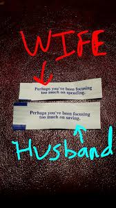 Funny Wife Memes - my wife and i also got some fortune cookies meme guy