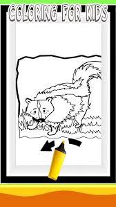 tap skunk color game kid app store