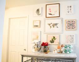 How To Design A Gallery Wall by Creating A Gallery Wall With Minted Money Can Buy Lipstick