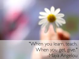 Nothing Can Dim The Light Which Shines From Within Maya Angelou By Lisa Ma
