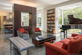 semi open plan kitchen living room kitchen living room ideas
