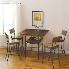 Napa Bistro Table Vino Vintage Pub Table With 4 Pub Chairs Wine Enthusiast