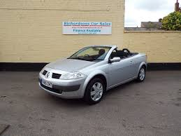 used renault megane convertible 1 6 vvt dynamique 2dr in lincoln