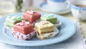 Wedding Cake Recipes Mary Berry Bbc Food Fondant Fancies Recipes