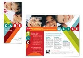 sales brochure template word free tri fold brochure template word