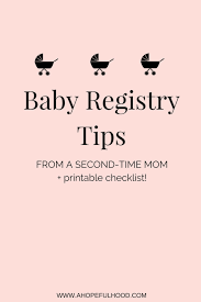 baby registery baby registry tips from a second time a hopeful