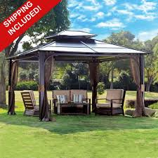 Gazebo Curtain Ideas by Gazebo Curtains 10 X 12 Http Web2review Info Pinterest Gardens
