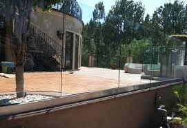 Glass Patio Fencing Murrieta Ca Wood Glass Aluminum U0026 Vinyl Fencing Contractor