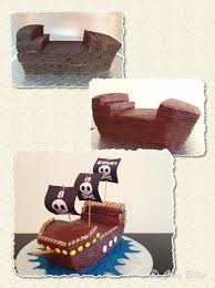 pirate ship cake with hershey u0027s chocolate cake recipe paperblog