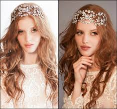 headband across forehead justine m couture bridal headpieces hair accessories
