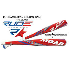 rude american new for 2018 speed engineered 10 moab usa baseball pre order now