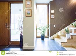designed anteroom in single family home stock image image 48149049