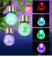 Solar Lights Hanging by Crackle Glass Solar Lights Price Comparison Buy Cheapest Crackle