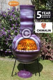 Extra Large Clay Chiminea Buy Sempra Large Clay Chimenea Purple Outdoor Heating