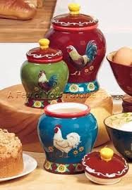 colorful kitchen canisters set of 3 roosters sunflowers kitchen canisters colorful kitchen