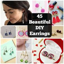 how to make your own clip on earrings how to make your own earrings 45 eye catching diy earrings