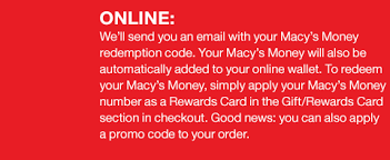 macy s money coupon and promotions