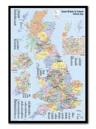 Pin Boards Buy Uk Map Pin Boards Online Uk Corkboard Maps Iposters