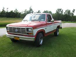 84 Ford Diesel Truck - 1984 ford f 150 our white 1983 ford f 150 looked like this pulled