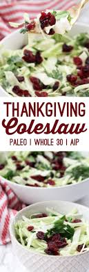 paleo thanksgiving coleslaw whole 30 aip unbound wellness