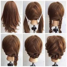 hairstyles for medium length hair with braids fashionable braid hairstyle for shoulder length hair latest