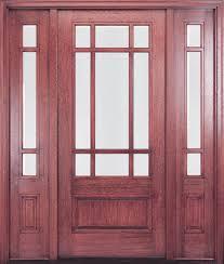 Exterior Door Sale Exterior Wood Doors Cheap Entry With Sidelights Front Door For