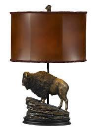 western lamps cal bo 229 western buffalo table desk lamp