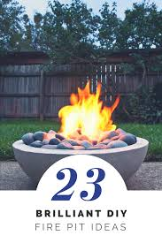 build a backyard fire pit diy fire pit ideas 23 brillant projects you can do yourself