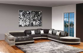 faux leather reclining sofa grey living room decor ideas framed wall art book staircase brown