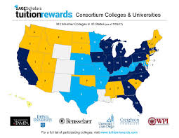 Colleges In Virginia Map by College Tuition Rewards Great American Opportunities