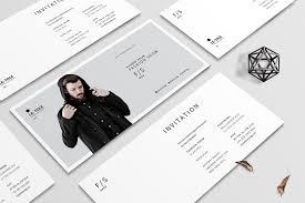 Salon Invitation Card Salon Business Card Photos Graphics Fonts Themes Templates