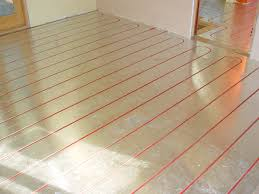 hydronic heating laminate flooring