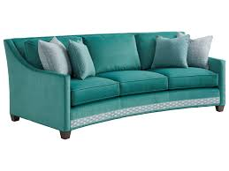Sofa Curved 7931 33 Valenza Curved Sofa Baer S Furniture