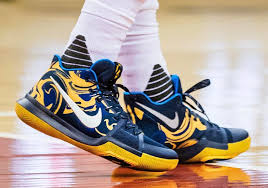 nike kyrie 3 blue yellow pe vs wizards sneakernews com