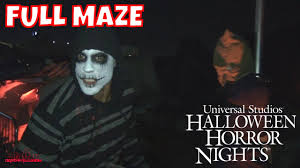halloween horror nights 2007 terror tram hd full maze halloween horror nights 2016 universal