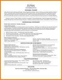 100 exercise science resume cv u2014 history tom cover letter