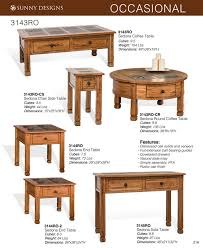 Sunny Design Furniture Prices U2022 Sunny Designs Sedona Occasional Tables U2022 Al U0027s Woodcraft