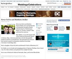 new york times wedding announcement wedding section of new york times