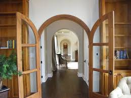 Interior French Doors With Transom - french doors with arched transoms entry traditional with built in